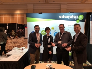 Webanywhere USA Team at DevLearn 2017, Las Vegas