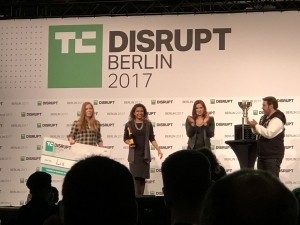 Lia win Tech Crunch Disrupt Battlefield