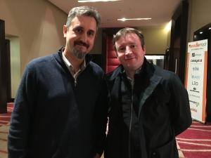 Martin Dougiamas Moodle Founder with Sean Gilligan Webanywhere Founder