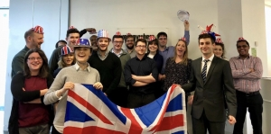 Webanywhere Team Celebrated Pano's British Citizenship