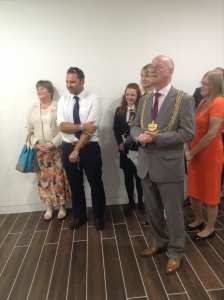 Lord Mayor of Leeds at Webanywhere Office Opening