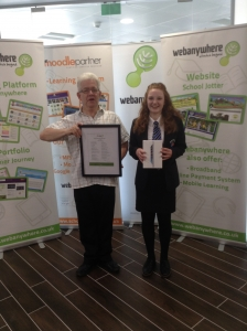 "Emily Wilson, Wetherby High School and Ian McMillan Yorkshire Poet - ""Why do Computers Rule the World?"""