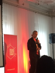 Howard Tullman of 1871, Chicago Startup Summit