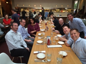 Webanywhere USA Team at The Little Goat, Chicago