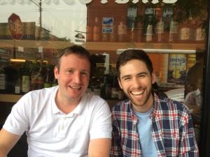 Sean Gilligan (Webanywhere) and Michael Berger (Basecamp)