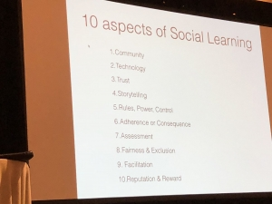 10 aspects of Social Learning