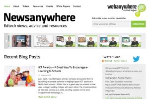 Newsanywhere Screenshot