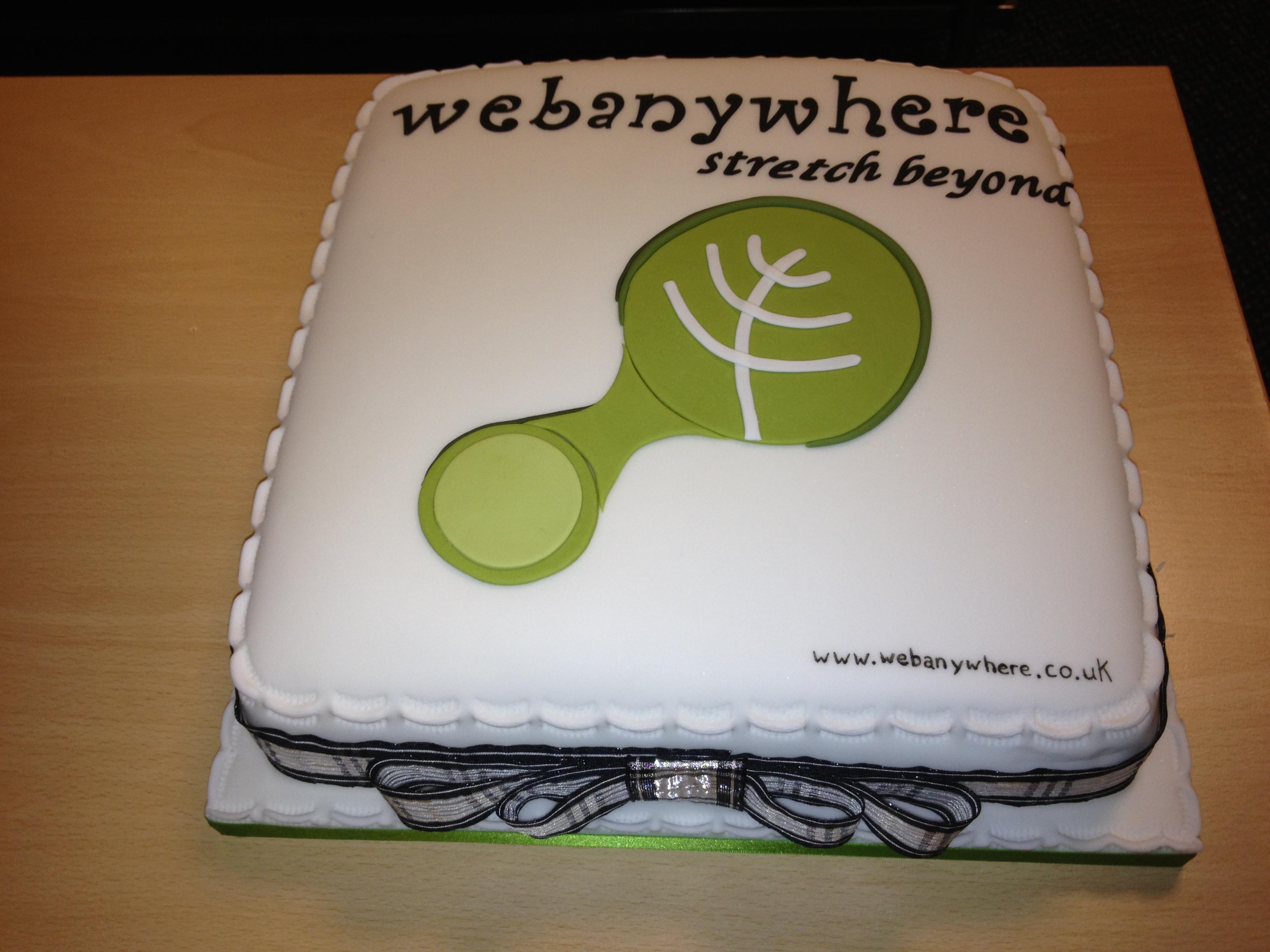 Webanywhere cake