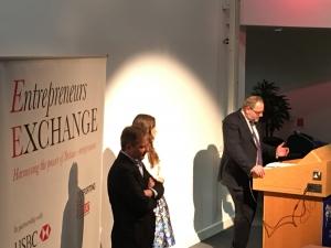 Ella Woodward and Sir Charles Dunstone Entrepreneur's Exchange
