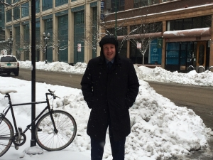Sean in Chicago following one of the worst snowfall in years