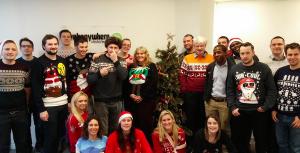 Webanywhere Staff Christmas 2014